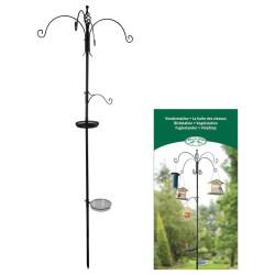 Esschert Design Birds' resting place. Hook for any bird accessory. Height 300cm. Outdoor feeders