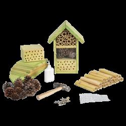 Esschert Design Hôtel a insectes a assembler, idéal pour vos enfants. Hauteur 26 cm . Hôtels à insectes