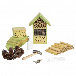 Esschert Design Hotel insect to assemble, ideal for your children. Height 26 cm. Insect hotels