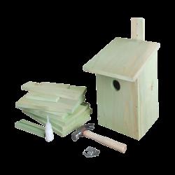 Esschert Design Nesting box to assemble, ideal for your children. Height 23cm . for birds. Nichoir oiseaux