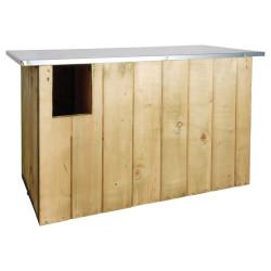 Esschert Design Barn Owl nesting box. Dimension H 44 X W 85 X D 37 cm. Nichoir oiseaux