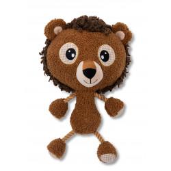 Vadigran Lilli Lion plush 30 cm, toy for dogs. Peluche pour chien