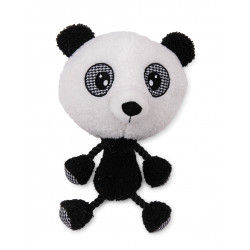 VA-17117 Vadigran Peluche Pia Panda 30 cm, juguete para perros. Peluche pour chien