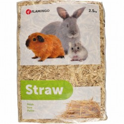 Flamingo Pet Products Straw 2.5 kg - for rodents Hay, litter, shavings