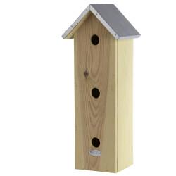 Esschert Design Sparrow apartment, vertical, hole diameter 32 mm. sparrow nesting box. Nichoir oiseaux