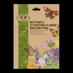 Esschert Design Mixture of flowers to attract butterflies. Seed for 4 m². Papillons
