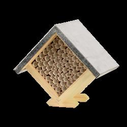 Esschert Design Square bee house, 18 cm high. Abeilles