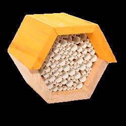 Esschert Design Hexagonal bee house. Abeilles