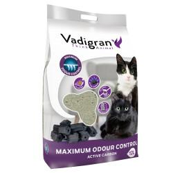 Vadigran Litière Bentonite contrôle odeur maximum. 12 litres soit 12 kg. litière pour chat. Litiere
