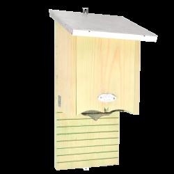 Esschert Design Bat silhouette shelter, size S. H 38 cm. chauve souris