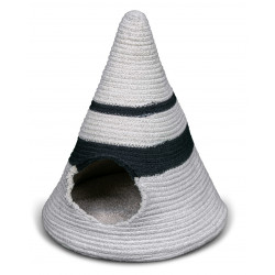 FANTAIL Tipi Berber Caramel ø 50 cm. for cats or small dogs. Sleeping