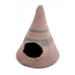 FANTAIL Tipi Bobo pink ø 50 cm. for cats or small dogs. Sleeping