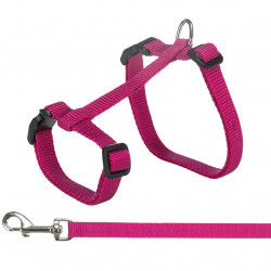 Trixie XL Harness with leash for big cats. random color. collier laisse cage