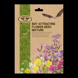 Esschert Design Mixed flowers to attract bats. chauve souris