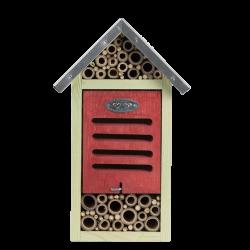 ED-WA75 Esschert Design Hotel de insectos, tamaño M, H 29 cm. abejas, mariquitas. Hoteles de insectos