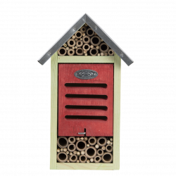 Esschert Design Insect hotel, size M, H 29 cm. bees, ladybugs. Insect hotels