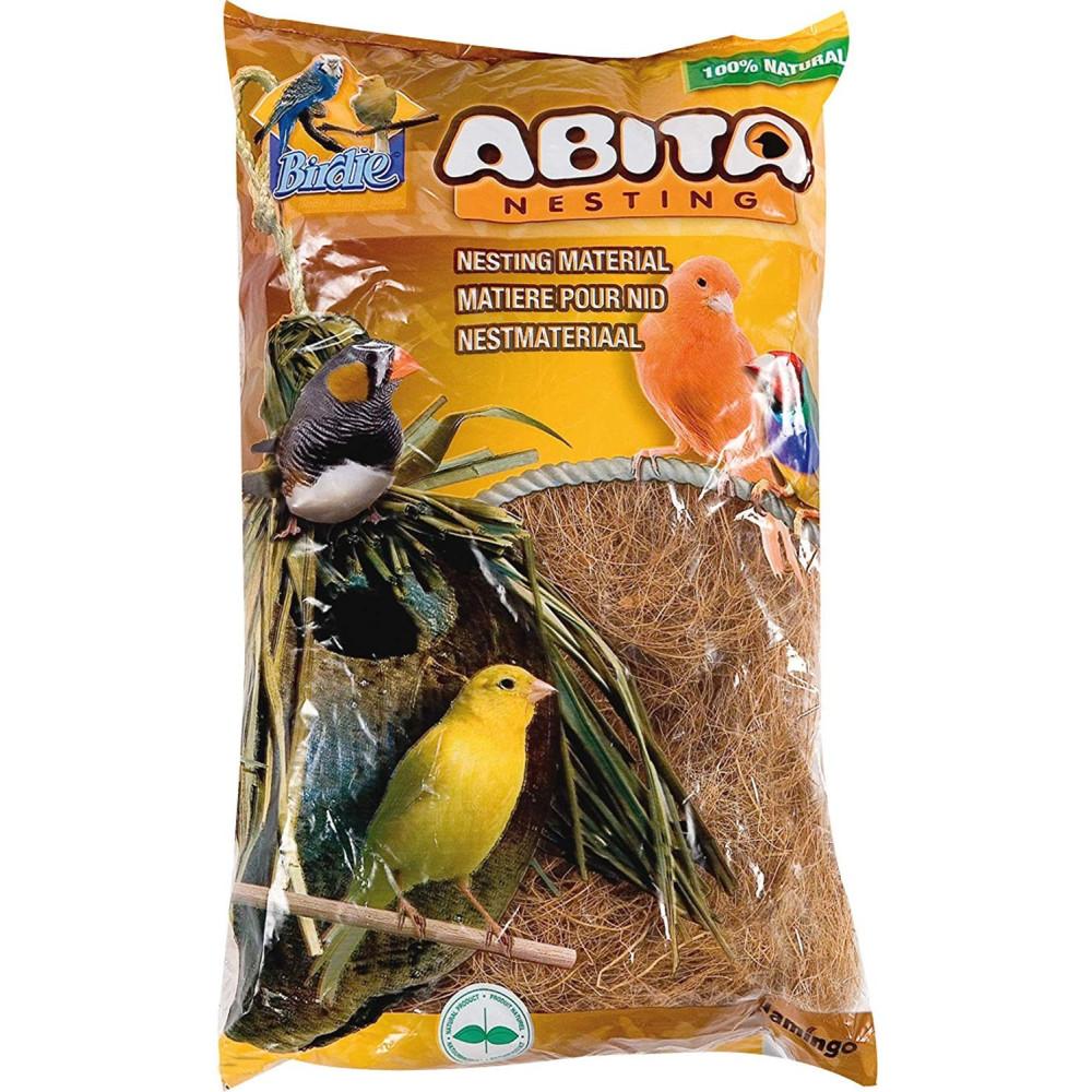Matière pour nid, fibre de cocos 300 gr Produit nid oiseaux Flamingo FL-100039