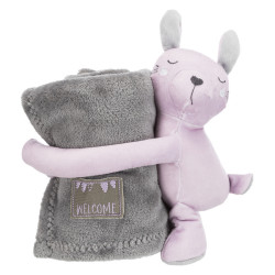 Trixie Junior Set cozy, blanket and toy. for dog. Peluche pour chien