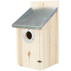 Trixie Starling box, size 18 x 31 x 16 cm / ø 4,5 cm. Nichoir oiseaux