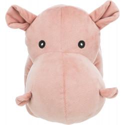 Trixie Hippopotamus plush with sound, size 39 cm. Peluche pour chien