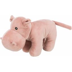 Trixie Hippopotamus plush with sound, size 25 cm. for dog. Peluche pour chien