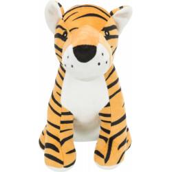 Trixie Tiger plush with sound, size 21 cm. for dog. Peluche pour chien