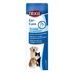 Soin pour les oreilles 50 ml chien ou chat Soin et hygiène  Trixie TR-2547