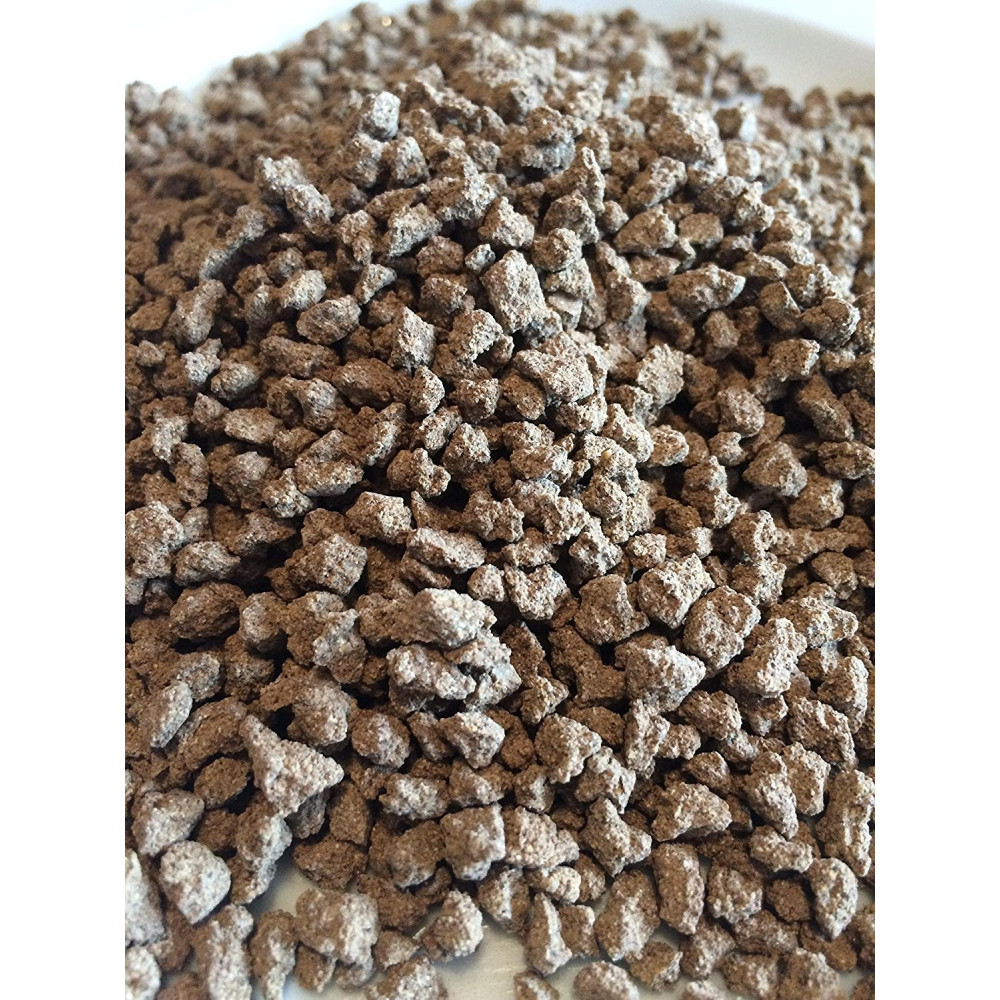 novealand 1 kg Nourriture poisson en granule Hermetia Illucens de -1 mm GR1-VR-1 Nourriture