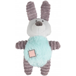 Flamingo Pet Products Peluche Small dog IKRA lapin vert. 27 cm. pour chien Accueil