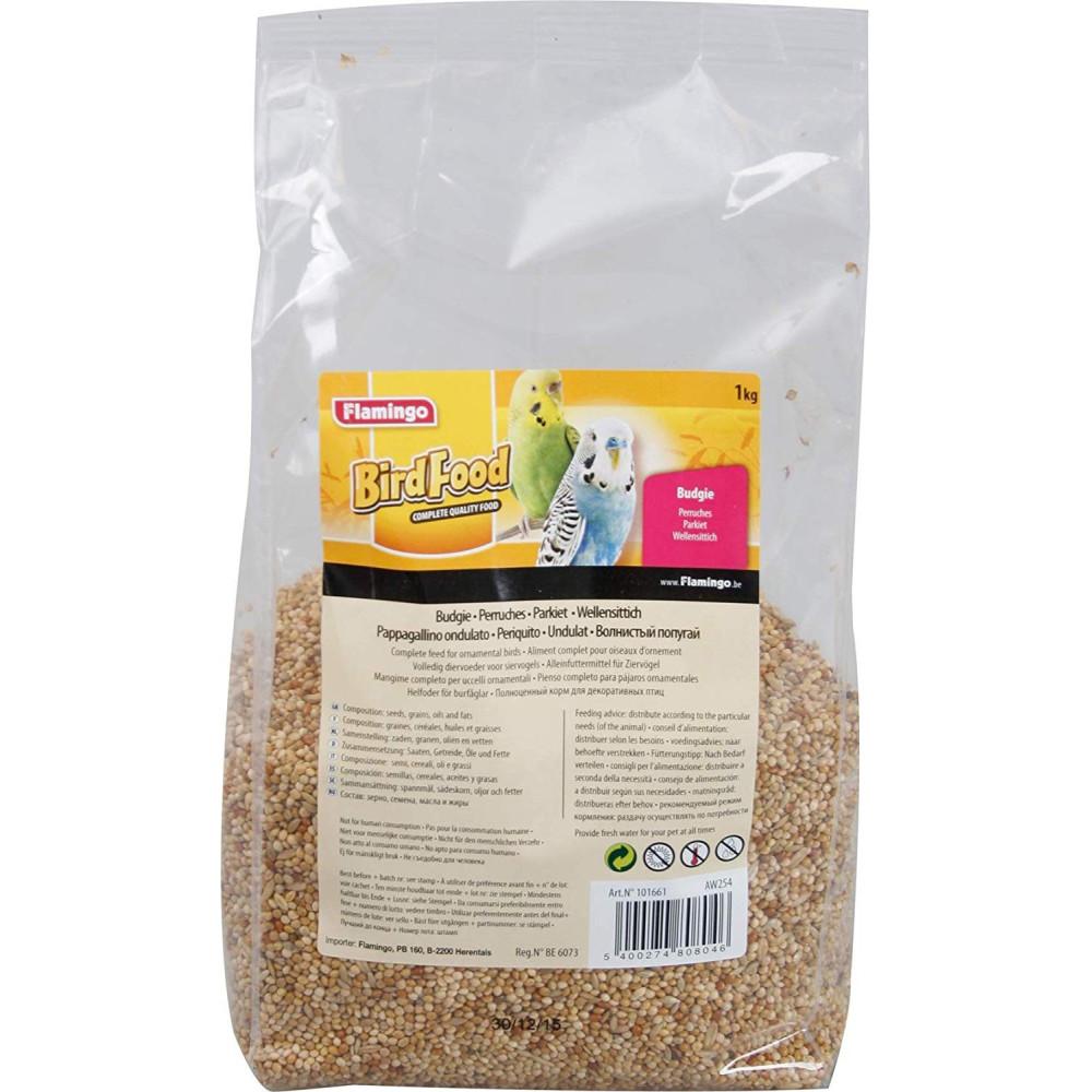 Flamingo Melange de graine pour perruche 1 kg FL-101661 Nourriture