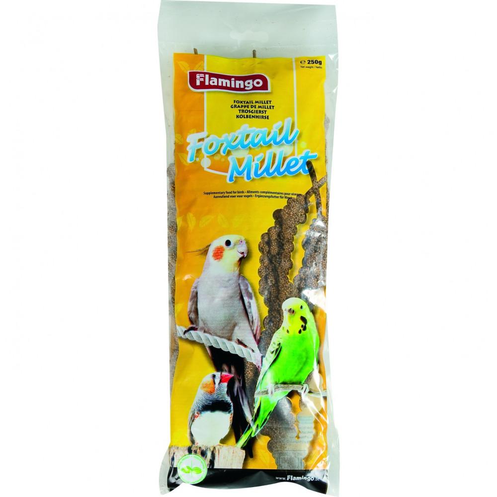 FL-190056 Flamingo Grappe de millet 250 g Comida y bebida