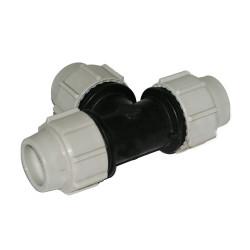 Unión Compresión T-90° - ø 32 Plomberie Plasson BP-35468951