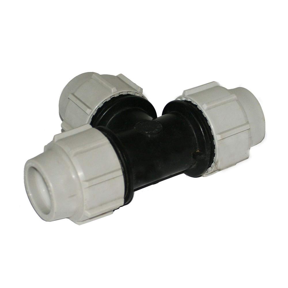 T of quick coupling for pipe ø 32 Plumbing Plumbing Plasson BP-35468951