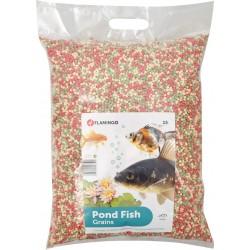 Flamingo Nourriture d'étang, granulat -15 Litres FL-1030480 Nourriture