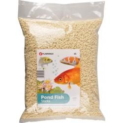 Flamingo FL-1030479 15 liters, Pond fish food, STICKS - 1,2 kg. Food and drink