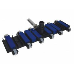 PSL-400-8579  Cabeza de escoba Flex pro. 56 cm. para piscina de hormigón. Aspiradora
