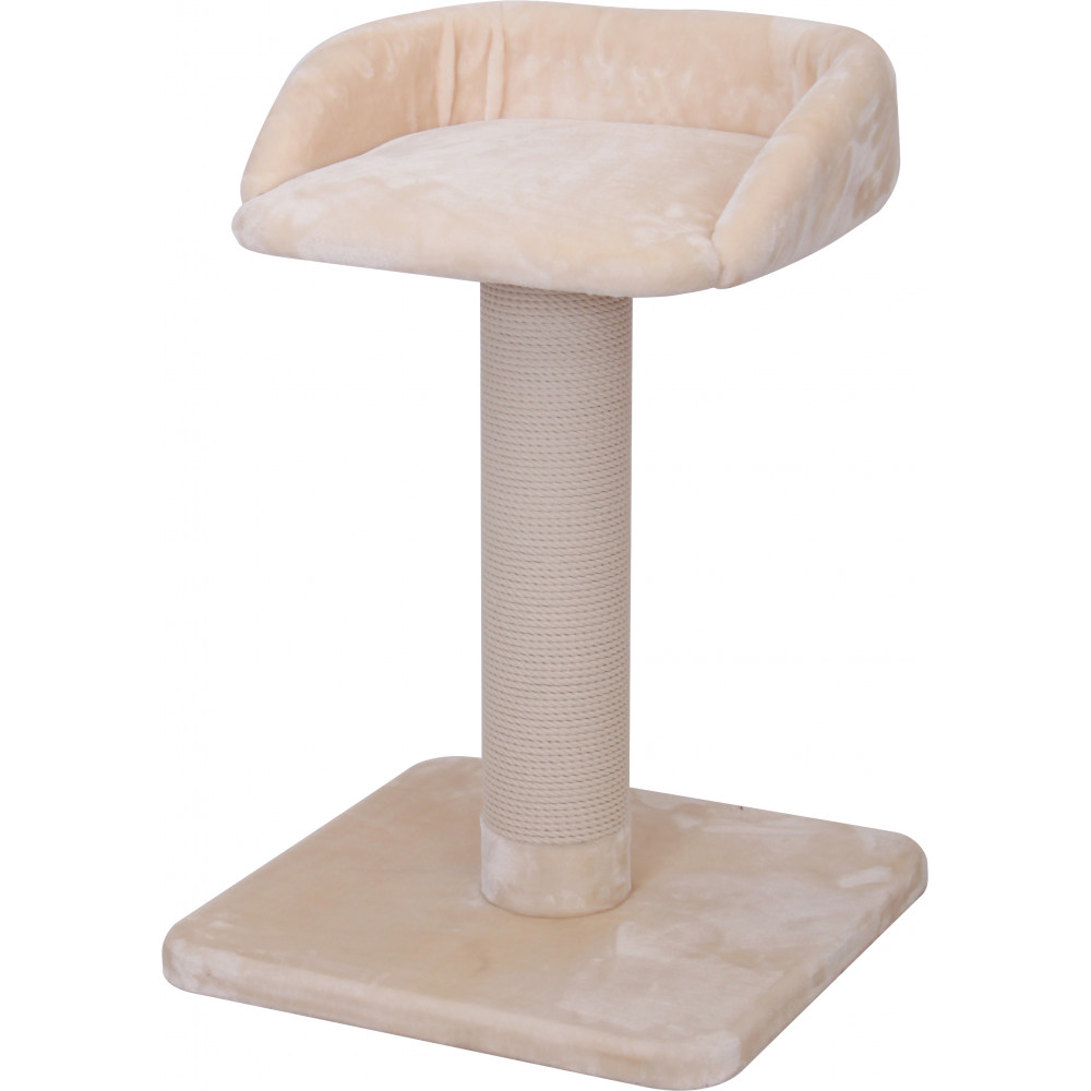 Flamingo Pet Products Cat Tree Goliath 2. beige. height 88.5 cm. for Main Coon cat. Arbre a chat, griffoir