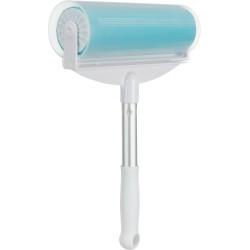 Trixie XXL silicone lint roller. Size: 20 × 30 cm. removes hair. dog cat. Gants et rouleaux de toilettage