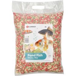 Flamingo 15 litres, Nourriture poisson d'étang, STICKS - 1,2 KG FL-1030482 Nourriture