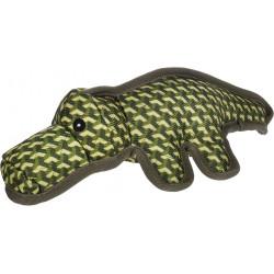 Flamingo Pet Products Strong Stuff Green Alligator Dog Toy 34 cm. Jouets à mâcher