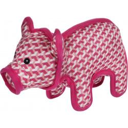 Flamingo Pet Products Strong Stuff Pink Piglet 26 cm. for dogs. Jouets à mâcher