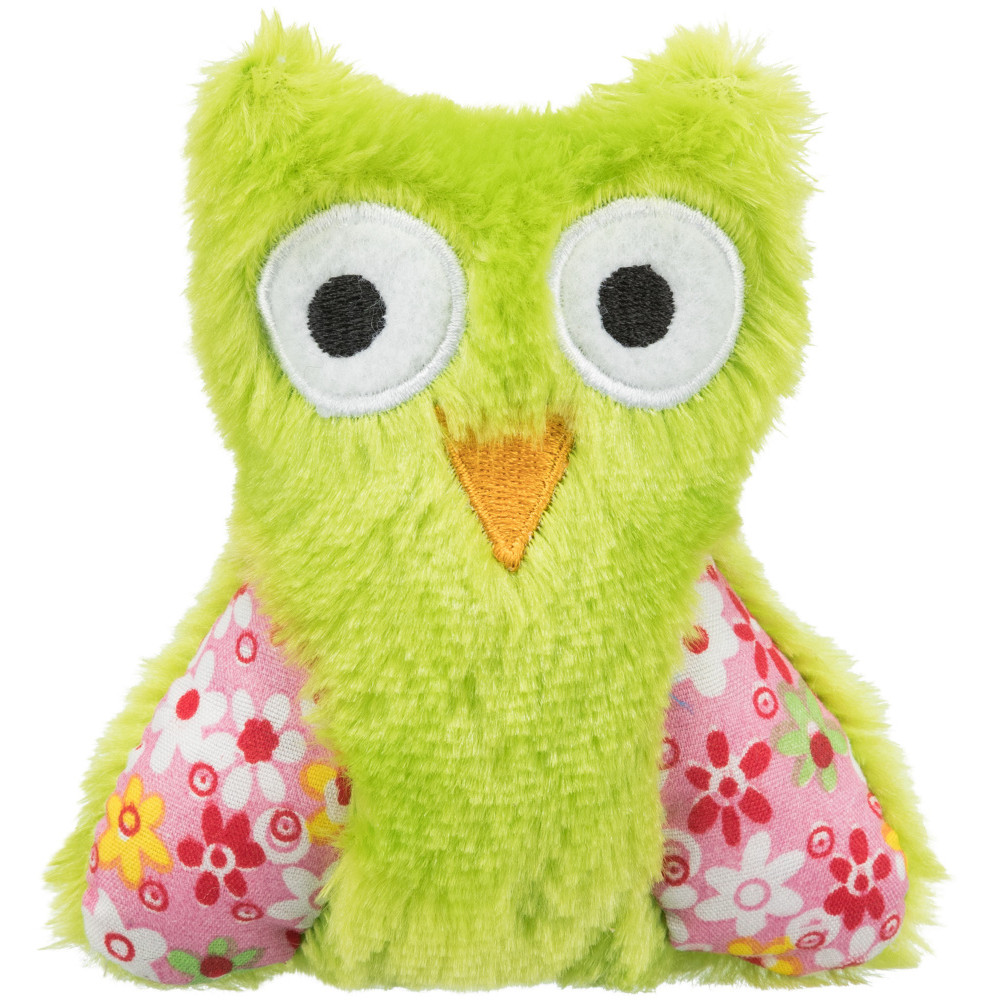 Trixie Owl in polyester with catnip, for cat. Games