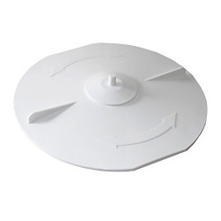 astralpool SC-PWB-251-0023 Astralpool Skimmer basket cover with cap Skimmer suction plate