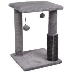 UNA kattenboom. 35 x 35 x 48,5 cm Sno 3 grijs - krabpalen voor katten. Flamingo Pet Products FL-561096 Kattenboom