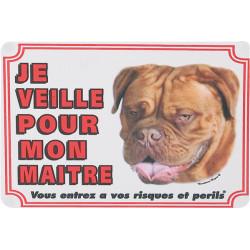 Flamingo Pet Products Dogue de Bordeaux portal sign. Dog. Panel panel