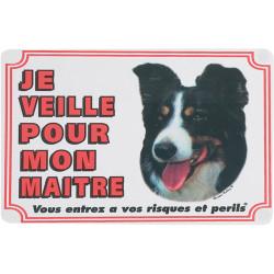 Border Colley poort teken. hond. Flamingo Pet Products FL-507384 Paneel