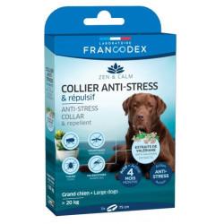 Coleira Anti-Stress e Repelente para cães grandes com mais de 20 kg. FR-175308 colarinho de peste