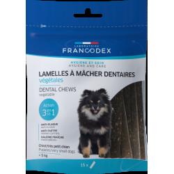 Kauwstrips voor puppies en kleine honden, zakje van 114 g. Francodex FR-172363 Snoephond
