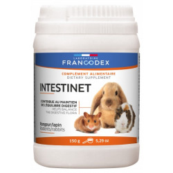 Francodex Intestinet 150 g food supplement for rodents and rabbits. Friandise