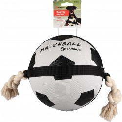 Flamingo Pet Products Football MATCHBALL ø 19 cm. for dogs. Balles pour chien